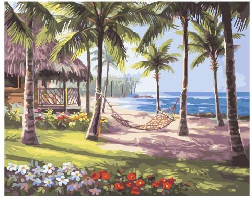 Картина по номерам Райское бали, 40x50 см., Brushme
