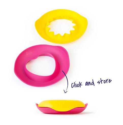 Чарівні формочки для ванни і пляжу Quut Sunny Love рожеві та жовті (170495)