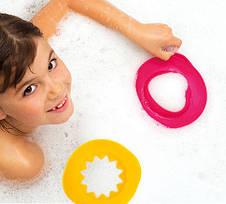 Чарівні формочки для ванни і пляжу Quut Sunny Love рожеві та жовті (170495), фото 2