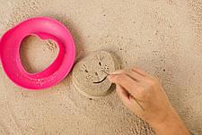 Волшебные формочки для ванны и пляжа SUNNY LOVE (цвет розовый + желтый) QUUT, фото 2