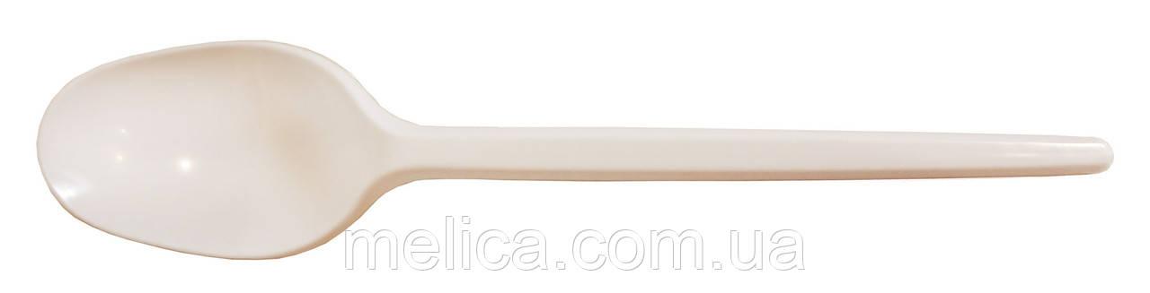 Ложки пластиковые одноразовые Андрекс Столовые 170 мм - 90 шт.
