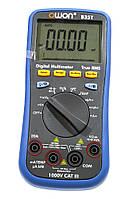 Мультиметр OWON B35T (напряжение, ток, сопротивление, ёмкость, частота, температура) +регистратор TrueRMS, фото 1