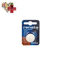 Батарейка Renata CR2032 3V для глюкометров