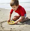 Волшебные формочки для ванны и пляжа SUNNY LOVE (цвет розовый + желтый) QUUT, фото 5