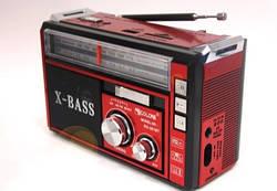 Радіоприймач GOLON RX-381 з ліхтариком