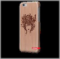Чехол для iPhone 6 plus Бабочки в волосах