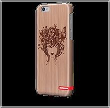 Чохол для iPhone 6 plus Метелики в волоссі