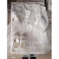 Комплект в коробке 4 предмета на выписку и крещение для девочек, фото 1