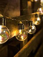 Гирлянда на батарейках «Радужные лампочки» , фото 1