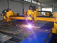 Плазменная и газовая резка металла (раскрой) на машине газоплазменной резки ЧПУ