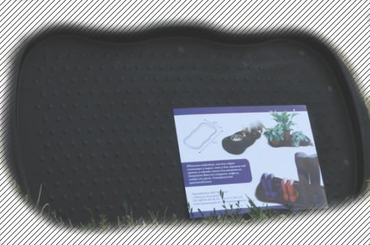 Подставка коврик для обуви или цветочных вазонов Консенсус
