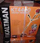 Бензокоса Kaltman KT-4400 3 ножа+1 шпуля с леской, фото 3