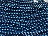 Бусина керамическая жемчуг 8 мм, нить 105-115 бусин