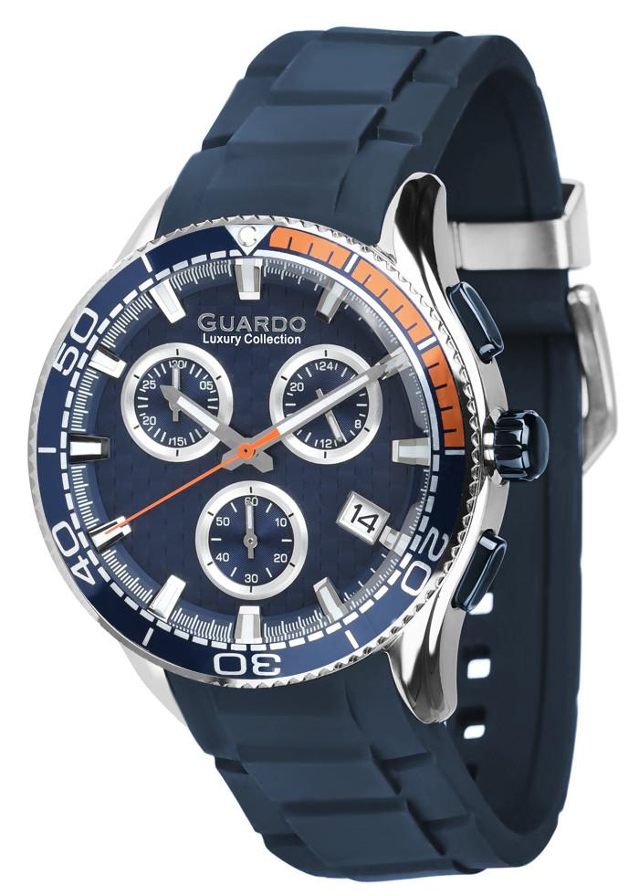 Мужские наручные часы Guardo S02388 SBl3Bl