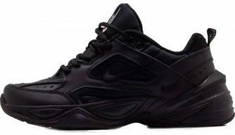 """Женские кроссовки в стиле Nike M2K Tekno """"Full Black """""""