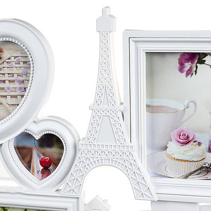 Фото рамка Joys home на 7 фото Love 51*40*2 см (192I/white), фото 2