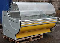 Холодильная витрина охлаждаемая «Росс Gold» 1.8 м. (Украина), Широкая выкладка 72 см, Б/у , фото 1