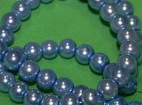 Намистина керамічна перли 8 мм, нитку намистин 105-115, фото 1