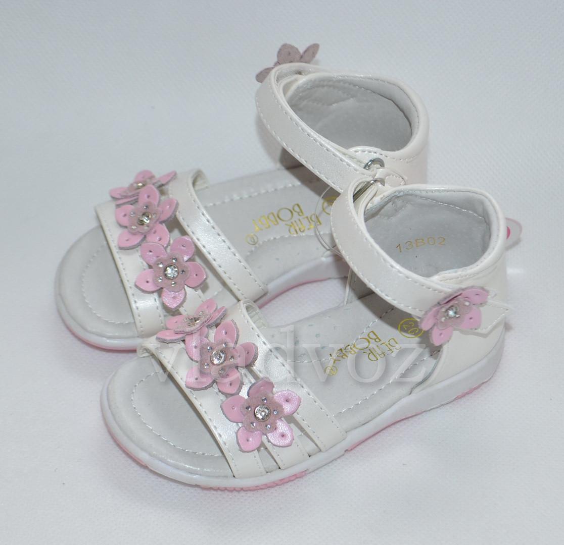 Детские сандалии сандали босоножки для девочки кожаные Bear Bobby 24р.