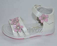 Детские сандалии сандали босоножки для девочки кожаные Bear Bobby 24р., фото 2