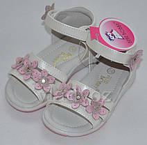 Детские сандалии сандали босоножки для девочки кожаные Bear Bobby 24р., фото 3