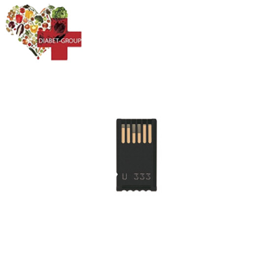Кодовая пластинка №333 для Акку Чек Актив