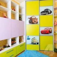 Фасади до шафи купе в дитячу кімнату