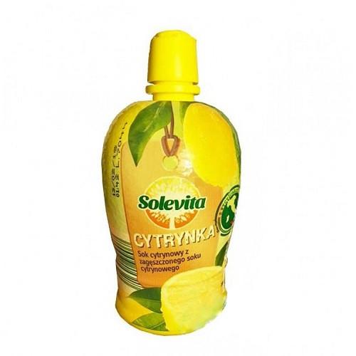 Сок лимона концентрированный Solevita Lemon  0,2 л
