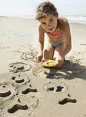 Волшебные формочки для ванны и пляжа STAR FISH (цвет зеленый + желтый) QUUT, фото 3