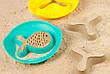 Волшебные формочки для ванны и пляжа STAR FISH (цвет зеленый + желтый) QUUT, фото 5