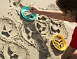 Волшебные формочки для ванны и пляжа STAR FISH (цвет зеленый + желтый) QUUT, фото 6