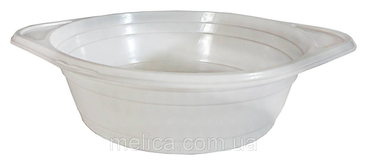 Миски пластиковые одноразовые Андрекс Глубокие 500 мл - 100 шт.