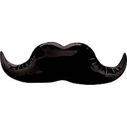 Фольгированный шар усы 90 см, Китай