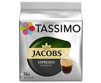 Кофе в капсулах Tassimo Jacobs Espresso Classico 16  шт