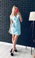 """Платье женское без рукавов короткое """"Жанна"""", фото 1"""