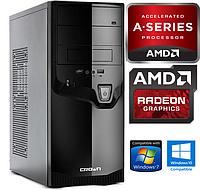 Системник ДВА Ядра AMD A4 2x4.0GHz/ 4Gb DDR3 / 250Gb HDD /Видео Radeon Системный блок, Компьютер, ПК