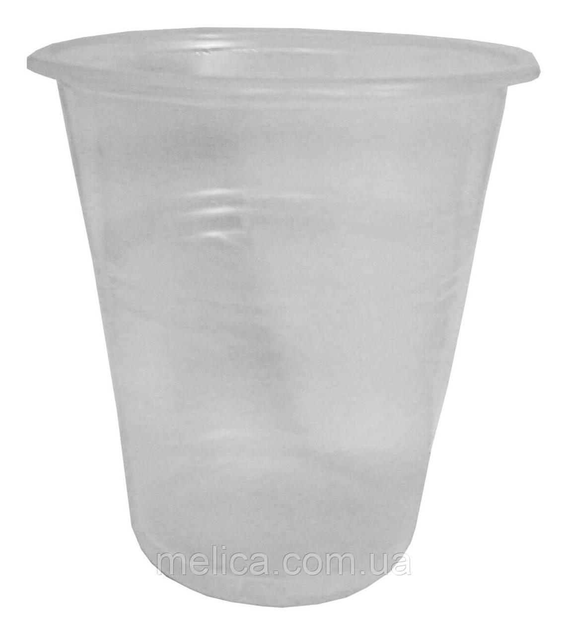 Стакани пластикові одноразові PGU 180 мл. - 100 шт.