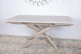 Стол раздвижной Lincoln 160-240 см Капучино ТМ Nicolas, фото 2