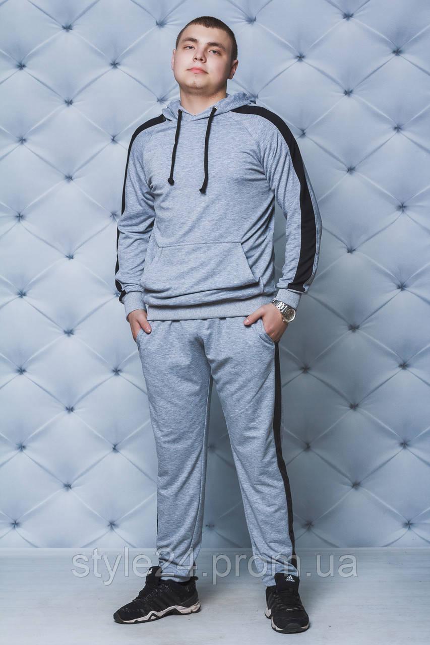 Чоловічий спортивний костюм з лампасами, новинка . Р-ри 44-58