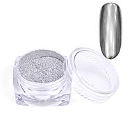Зеркальный блеск для втирки ( серебро) вес: 4 г