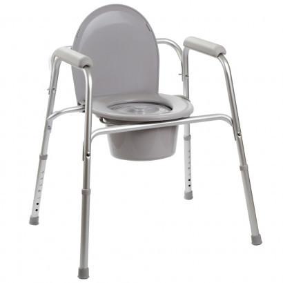 Алюминиевый стул-туалет 3в1 OSD-YU-2109A