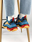Кроссовки Balenciaga Triple S Blue Orange, фото 6