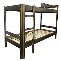 Кровать деревянная двухъярусная ДУЭТ