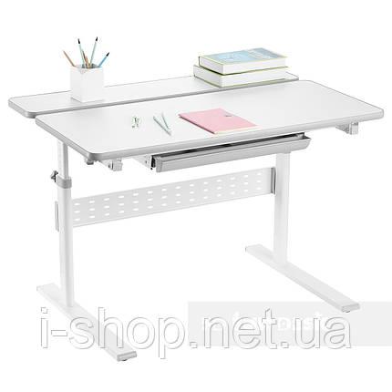 Парта-трансформер для школьника Fundesk Colore Grey, фото 2