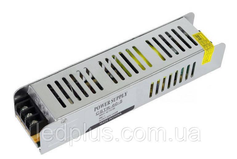 Блок питания 5В 12А  CSTR-60-5