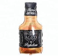 Фольгированный шар бутылка Виски 85х45 см