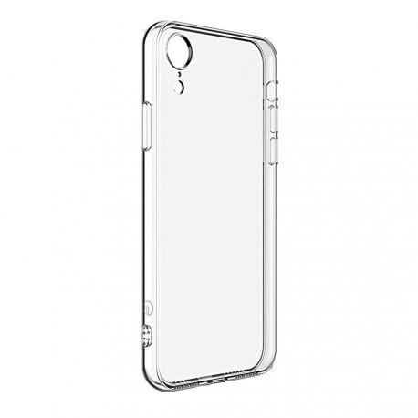 Пластиковый прозрачный чехол для iPhone XR