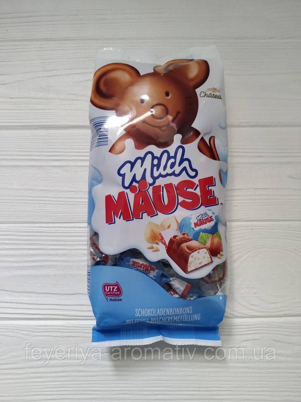 Шоколадные конфеты Milch Mause с орехами 210г  (Италия)