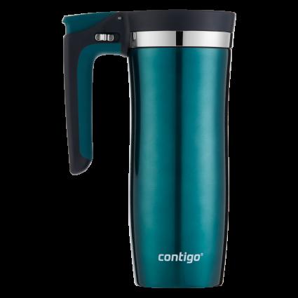 Термокружка Contigo Handled AUTOSEAL Vacuum-Insulated Stainless Steel Travel Mug