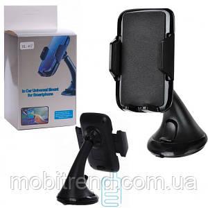 Держатель для телефона в авто HL-67 черный